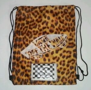 Vans Off The Wall Bag and Wallet Punk Rock Skate Board Checkerboard ... 7177dbd2ff42f