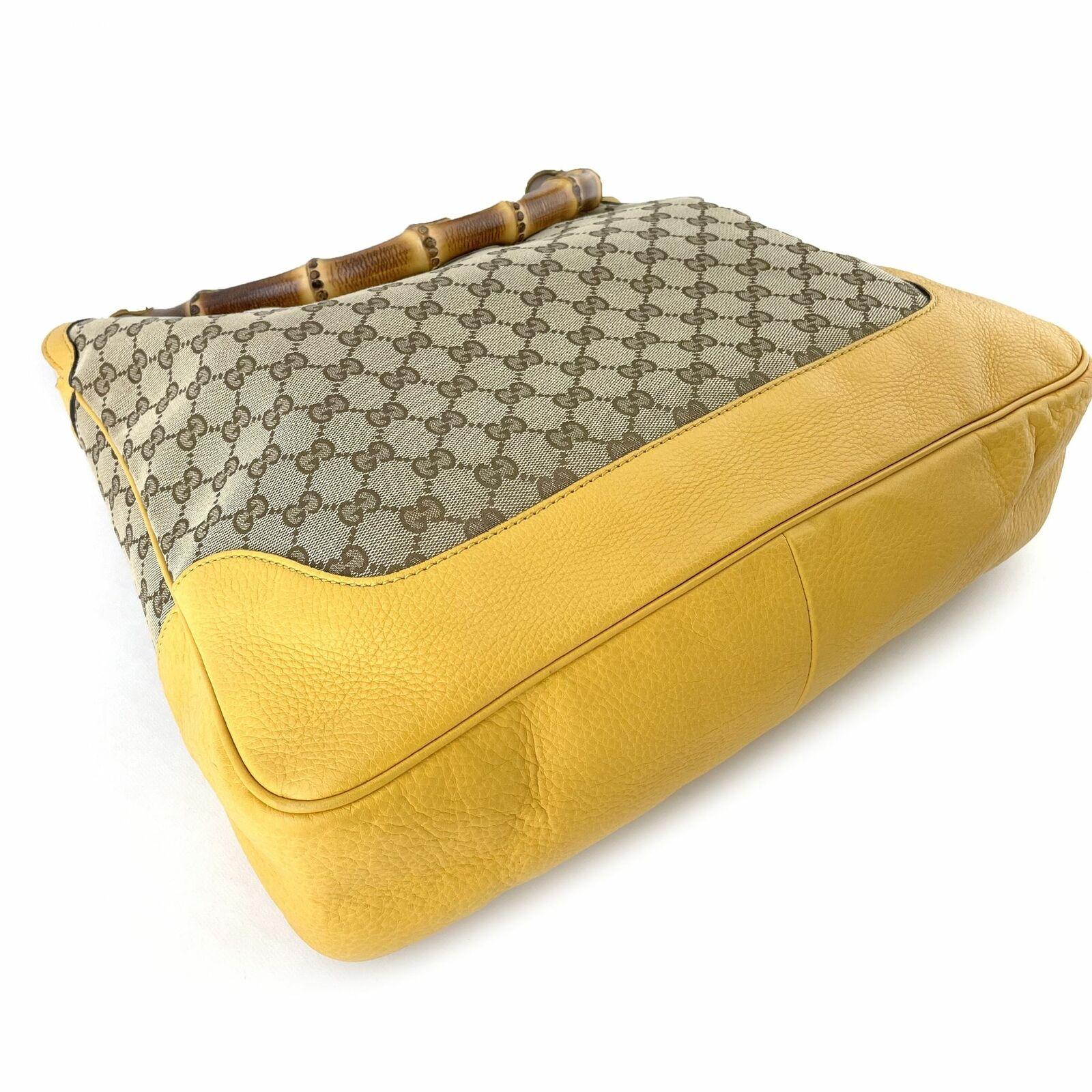 Gucci GG Canvas Diana Bamboo Shoulder Bag - Beige… - image 6