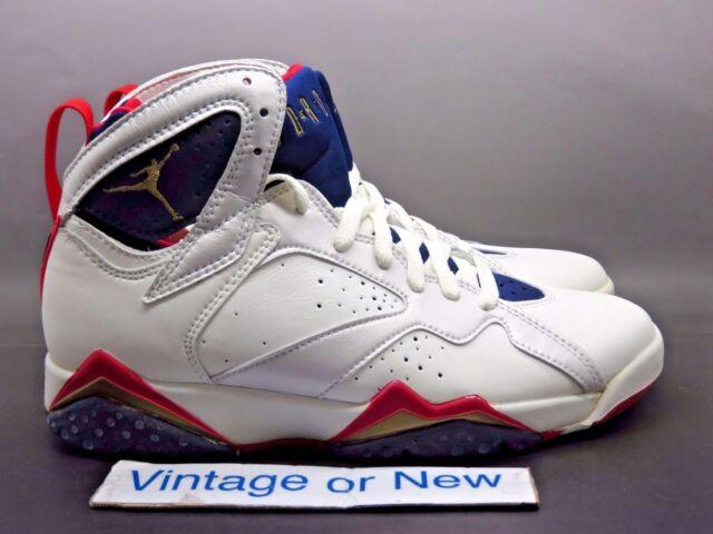 huge discount 3327c c8956 VTG OG DS Air Jordan VII 7 Olympic 1992 sz 9