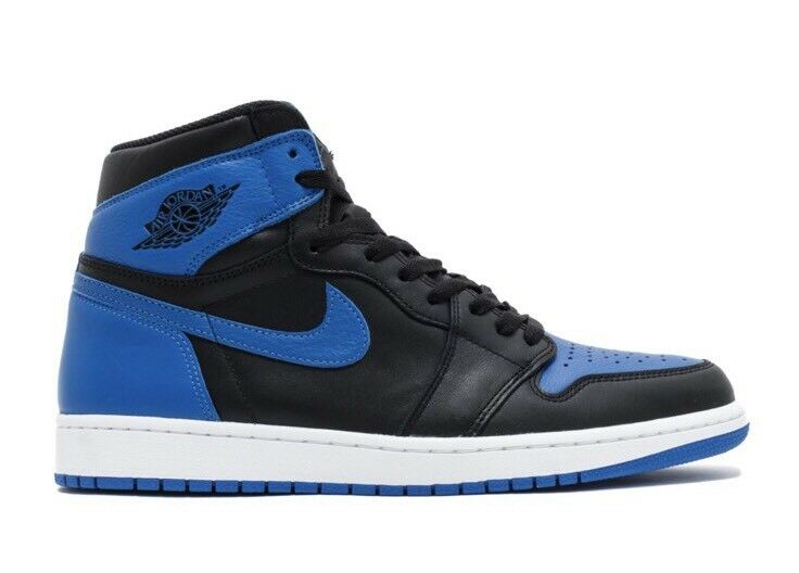 Authentic Nike Air Jordan Retro 1 High OG Royal Blue Size 11 DS On Hand 2017