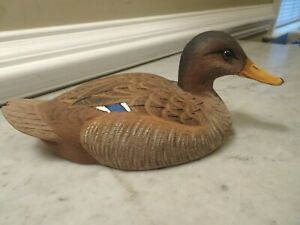 American Wildlife Collections N.c. Mallard Hen Duck Signé A.l. Allen 1988-afficher Le Titre D'origine Longue DuréE De Vie