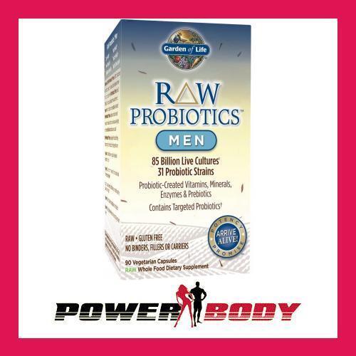 Garden of Life - Raw Probiotics Men 90 - 90 Men vcaps 6a05f2