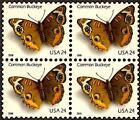 2006 COMMON BUCKEYE MNH Block 4 x 24¢ Gummed Stamps: #4000 Butterfly Butterflies