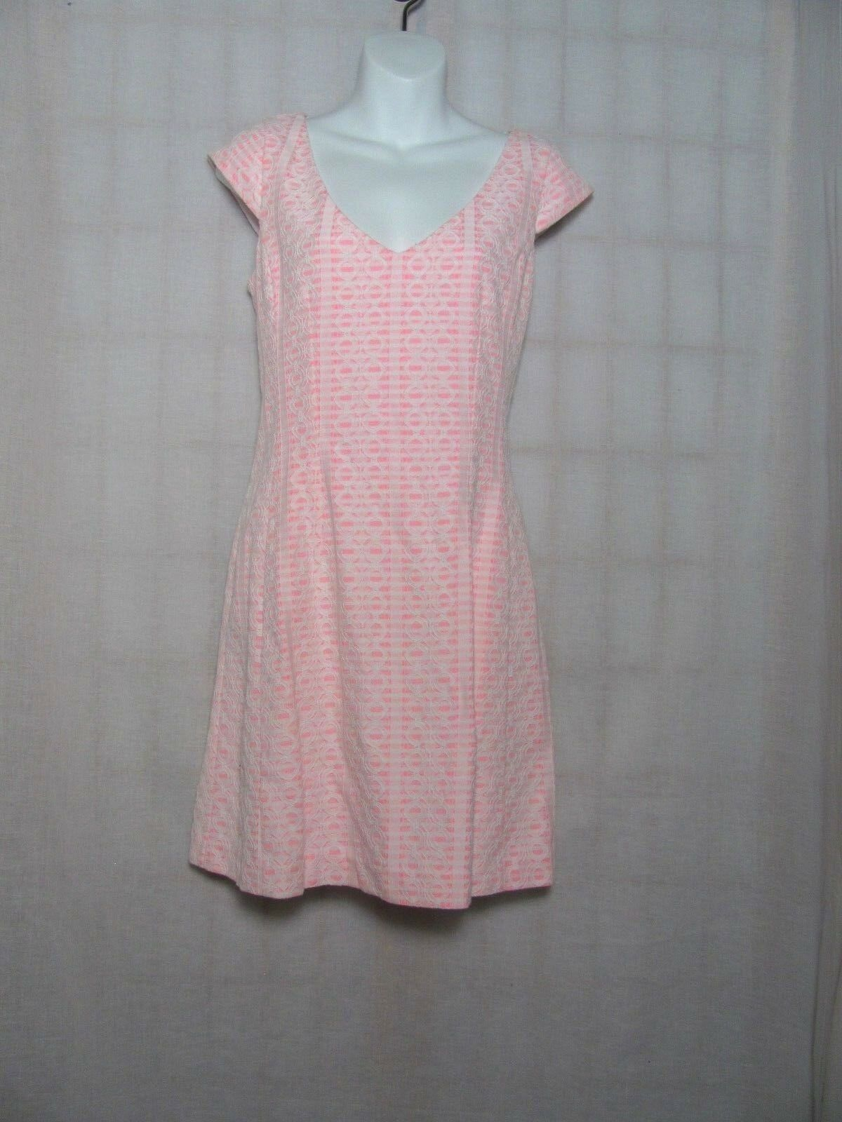 Lilly Pulitzer Lace Dress Pink Size Medium