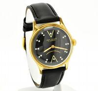 vintage men's wrist watch , Jean Cardot 17 jewel