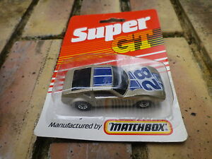MATCHBOX-SUPERFAST-SUPER-GT-MONTEVERDI-bronze-etat-neuf-blister-jamais-ouvert