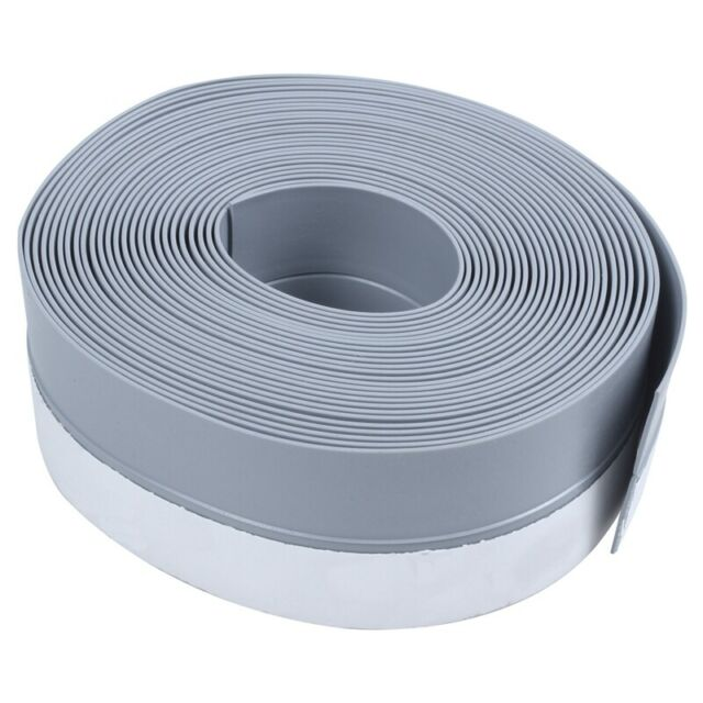 New 5M Self-adhesive Draught Excluder Strip Window Door Seal Weather Tape R Y5A3
