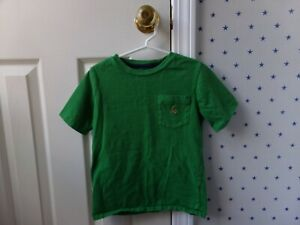 6594f26f47 Details about Boys Baby Gap Teddy Bear Logo S/S Solid Green T-Shirt BTS  Back To School Size 5T