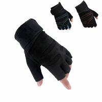 Exercise Sports Weight Lifting Gym Gloves Training Fitness Wrist Wrap Glove M-xl