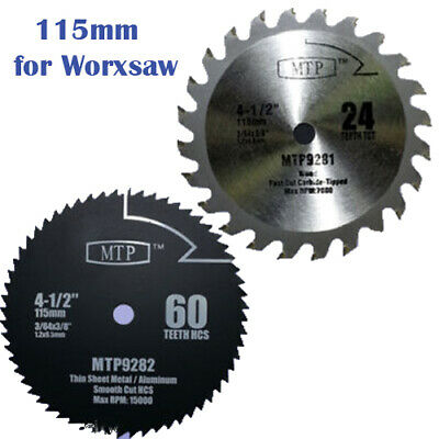 """4-1//2/"""" inch Wood Metal Circular Saw Blade for Porter Cable PCE 381 Dewalt DCS571"""