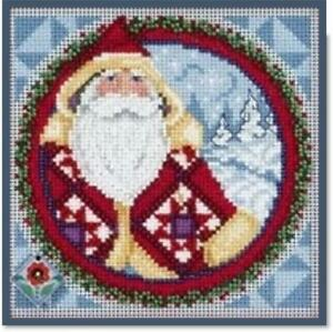 MILL-HILL-JIM-SHORE-Counted-Cross-Stitch-Kit-KRIS-KRINGLE-JS14-9203