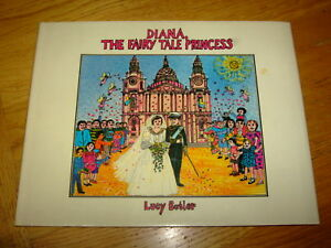 LUCY-BUTLER-DIANA-THE-FAIRY-TALE-PRINCESS-CORGI-1st-Hardback-Corgi-Books-1982-G
