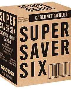 Super-Saver-Six-Cabernet-Merlot-case-of-6-Dry-Red-Wine-750mL