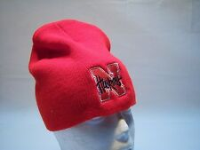 Vintage 40 Point Huskers Beanie Hat Men's One Size Fits All