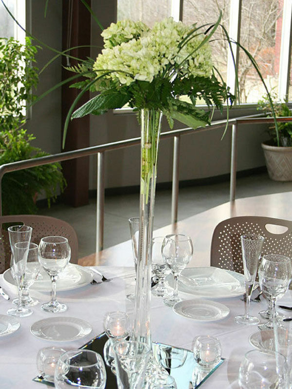 18 Pcs Clear Glass Eiffel Tower Vases 24 Tall Centerpieces Vase