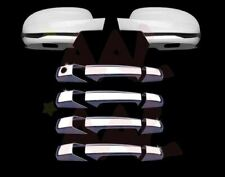 07-13 CHEVY SILVERADO FULL MIRROR+4DRS WITH PSGKH+TAILGATE+GAS CHROME COVERS