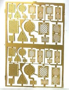 Drain-Manhole-covers-Etched-Brass-F73-UNPAINTED-OO-Scale-Langley-Models-Kit