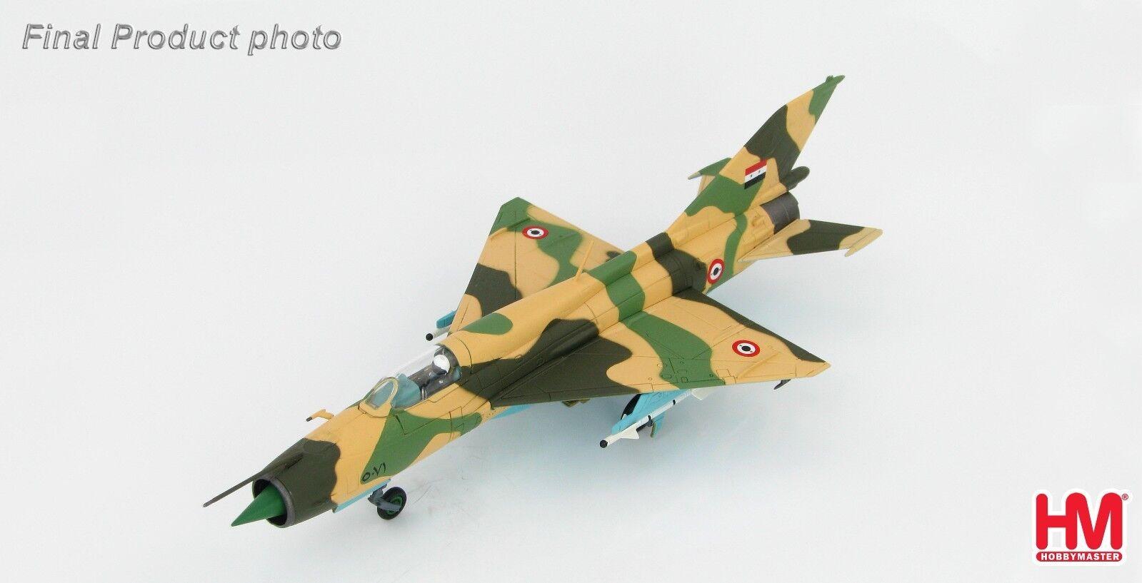 MiG-21FL Fishbed-D  5081 Egyptian Air Force Six Day War 1967 Hobbymaster HA0190