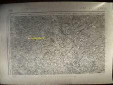 Carte d'État-Major Angers Nord-Ouest 1894