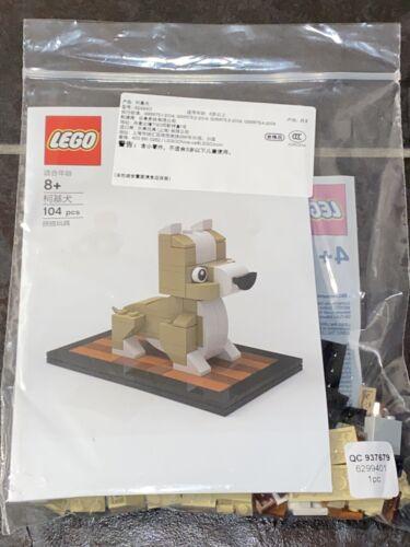 LEGO Welsh Corgi Dog Minibuild Series Asia Exclusive 6299401 NEW WCORGI