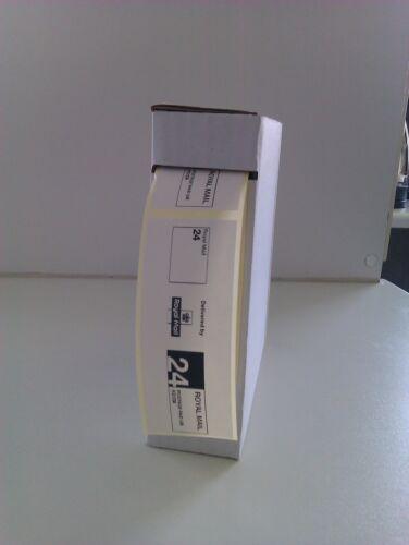 pas de feuilles Royal mail ppi étiquettes rm 24//48 1000 sur un rouleau