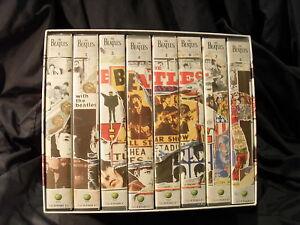 The-Beatles-Anthology-8-VHS-Kasetten-im-Schuber
