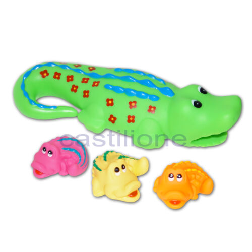 Krokodil Familie Badespielzeug Badewanne Pool Baby Spielzeug Geschenk Kind