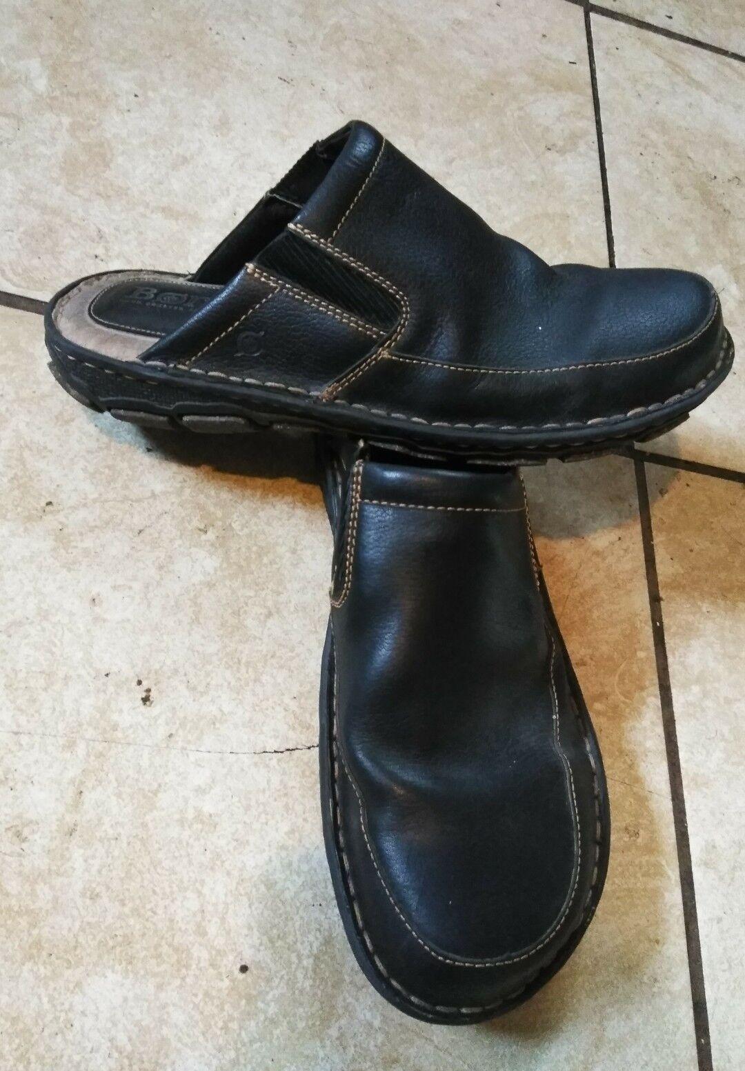 Born men leather mules 10