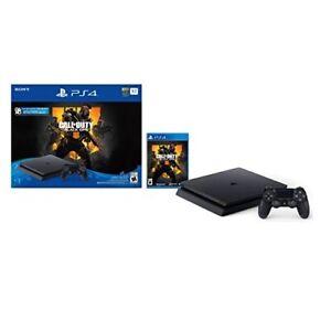 Sony PlayStation 4 Slim Console - Call of Duty: Black Ops 4 1TB Bundle