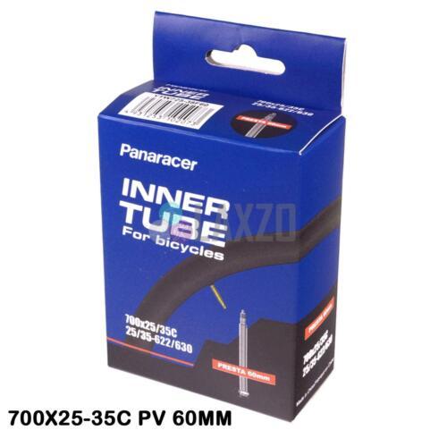 Panaracer Premium Inner Tube 700C Mid Volume 700x25-35C Presta Valve Bike Cycle