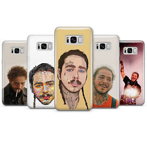 Details about Post Malone Singer Rapper Songwriter gel/plastic phone case  for samsung