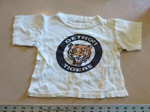 Vintage-original-1961-1963-Detroit-Tiger-Baseball-Baby-tshirt-shirt-cotton-MLB