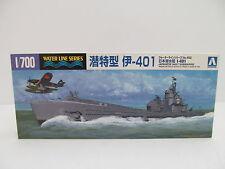 MES-44692 Aoshima 038451 1:700 Japan Submarine Bausatz geöffnet,