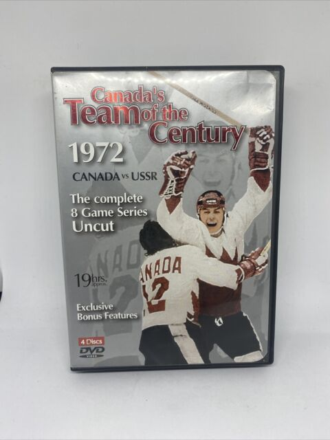 Canada's Team of the Century 1972 Canada vs USSR 4 Discs DVD Set 19hrs