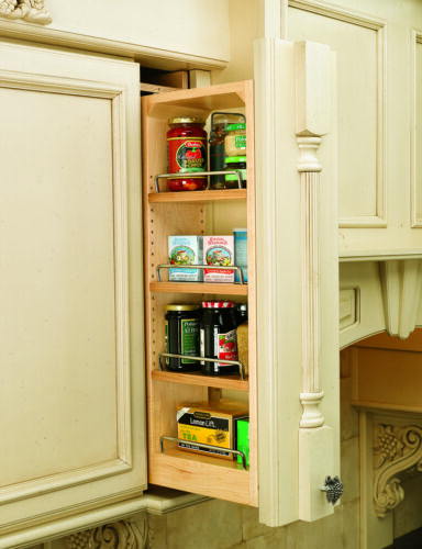 Rev-A-Shelf Kitchen Wall-Filler Storage Organizer /& Spice Rack Specify Size