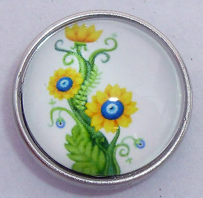 Genuine Snap It Button Chunk Charm Fit Snaps Jewelry **We Combine Shipping**