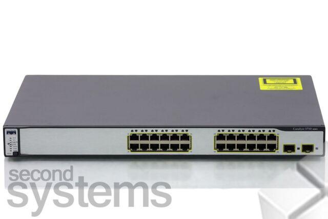 Cisco Catalyst 3750 Séries 24-Port 10/100 Commutateur - Ws-c3750-24ts-e