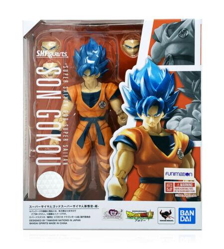 Bandai Tamashii Dragon Ball Super S.H.Figuarts Super Saiyan God Goku In Stock