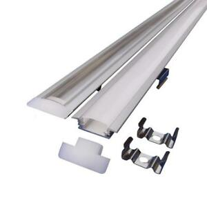4pack-LED-Strip-Aluminum-Channel-Profile-Light-Housing-With-Cover-and-end-caps
