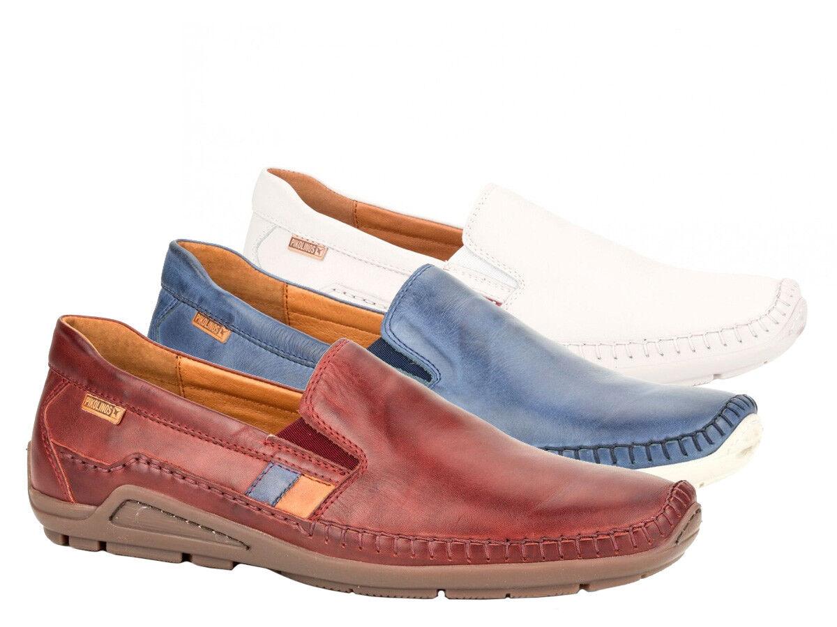 Pikolinos señores Slipper Azores 06h-3125 cuero slip-on zapatos