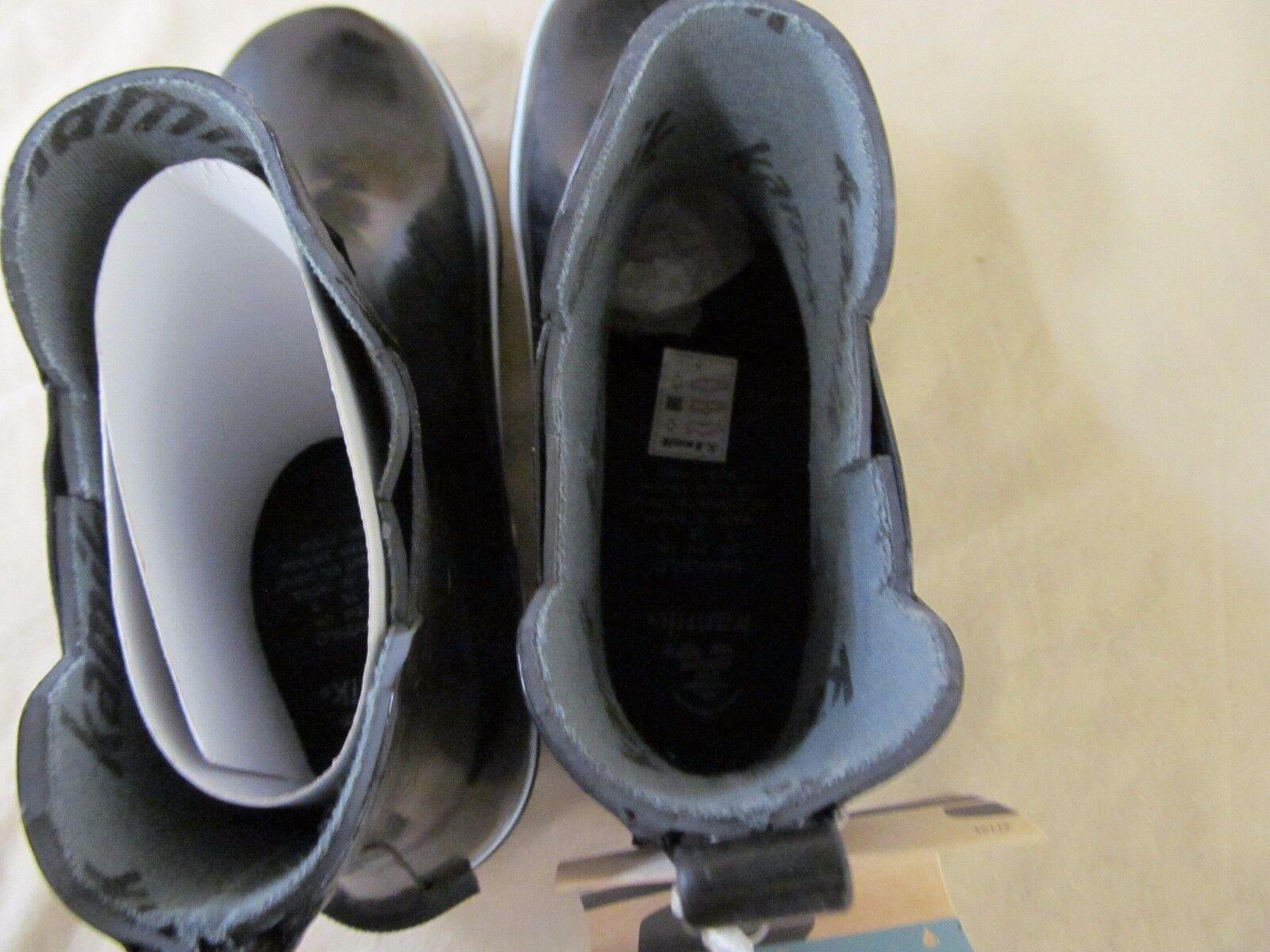Women's 7 M Kamik Black Rubber Sharonlo Waterproof Ankle Ankle Ankle Rainboots P7028968 607372