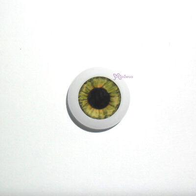 Mimiwoo 1//6 BJD Doll Acrylic Eye 8mm Green HALF Round