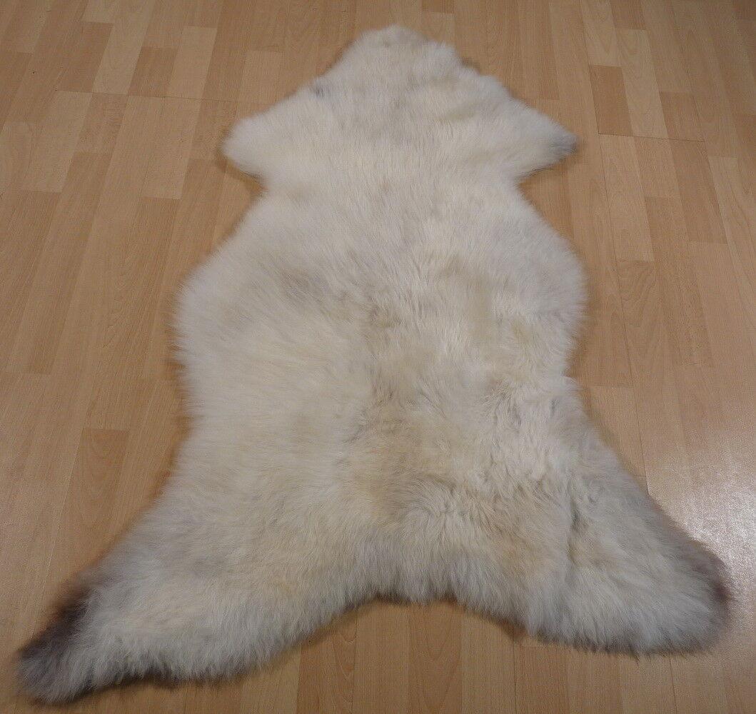 Ecológica oveja fell cordero fell 11704 Weiss-gris 115x80cm 11704 fell 2c1659