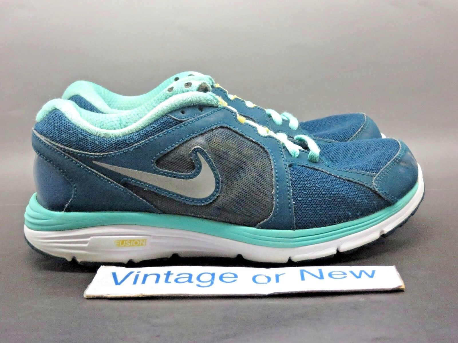 Women's Nike Dual Fusion Livestrong Green Yellow Running Shoes 554693-307 Price reduction Special limited time
