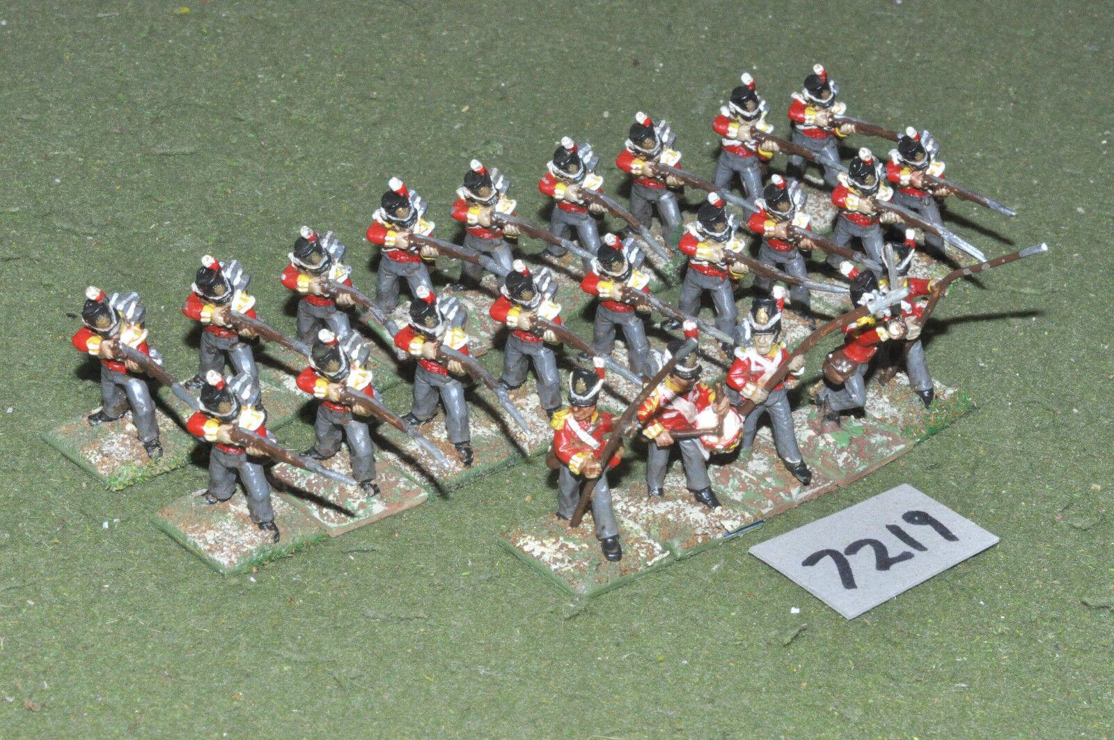 25mm napoleonischen   british - infanterie 23 bilder gemalt, metall - inf (7219)