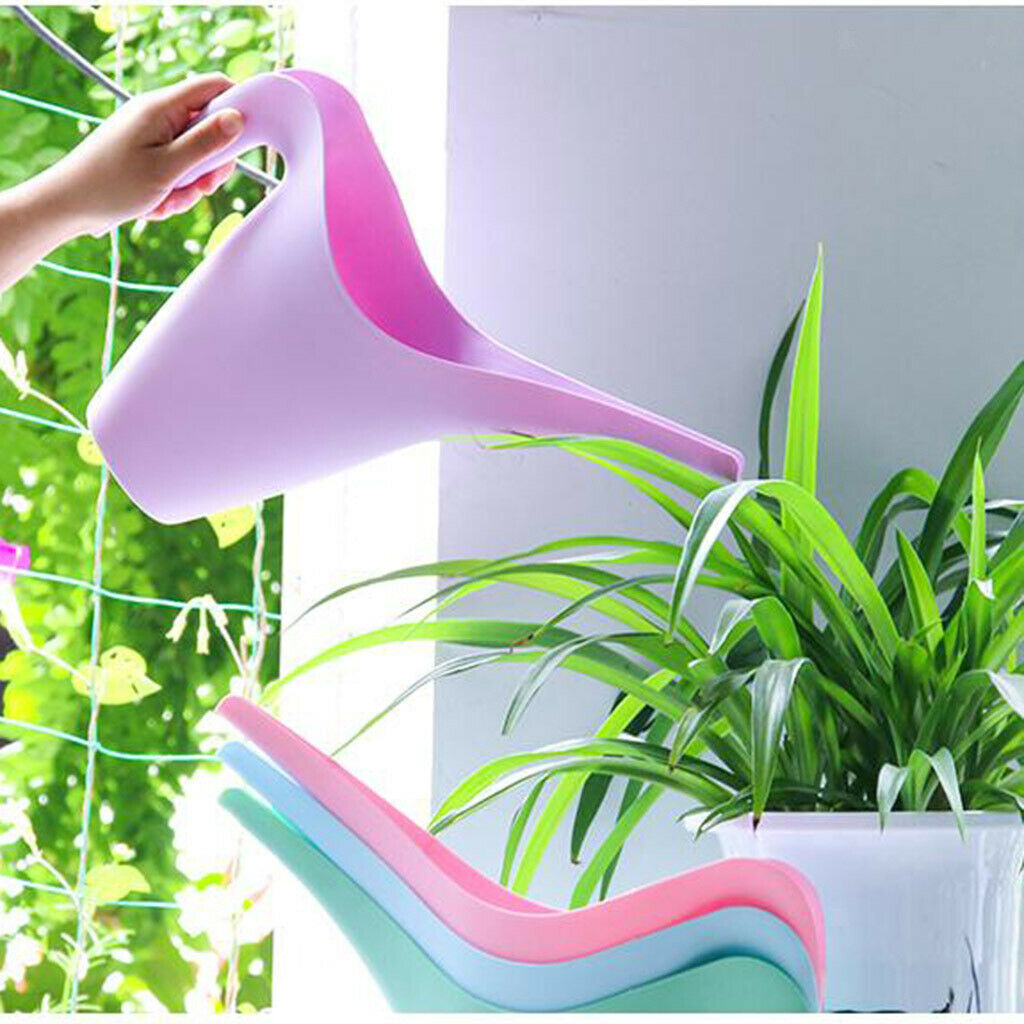Portable Plastic Long Mouth Flower Watering Can Outdoor Plants Watering Pot