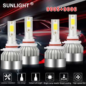 6x Combo 9005+9006+H11 4065W 609750LM LED Headlight Kit CREE Hi//Low Bulbs 6000K