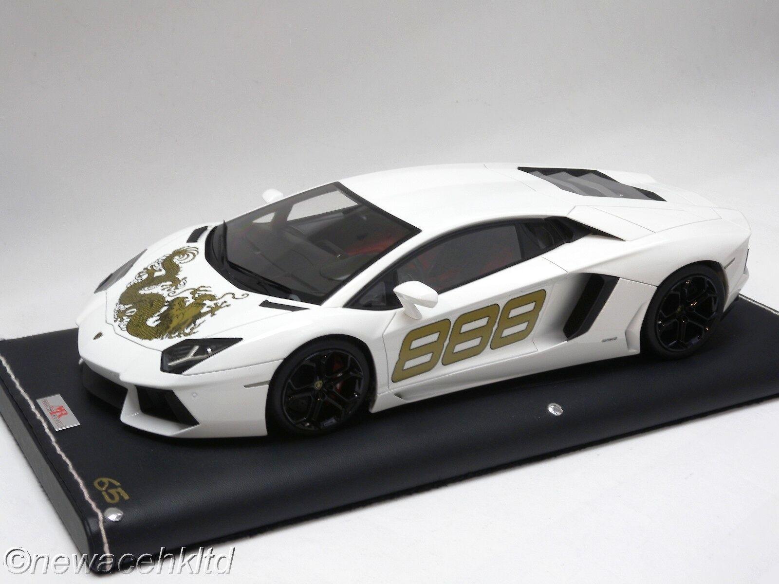 tomar hasta un 70% de descuento Lamborghini Aventador Dragon limitada 99 un. mr Models Models Models 1 18  LAMBO 06DR  distribución global
