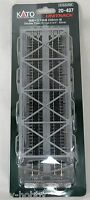 N Scale Double Truss Bridge 9-3/4 - Silver - Kato Unitrack 20-437