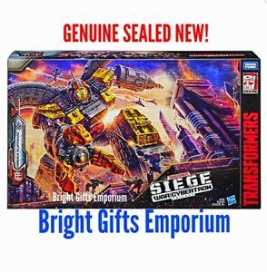 Transformers OMEGA SUPREME Earthrise Titan Seige E4287 WFCS29 HASBRO TAKARA TOMY